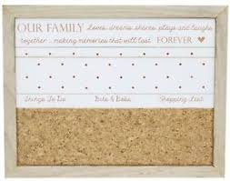 Family Memo Board Hanging Wooden Family Memo Notice Board Reminder Organiser eBay 45