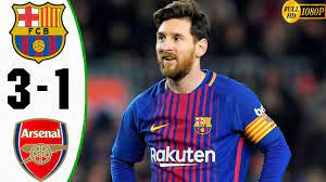 Barcelona vs Arsenal 3 1 ملخص مباراة برشلونة و ارسنال - YouTube