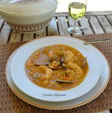 Sopa De Pescado Con Arroz Y Mariscos, Receta Paso A Paso.   Cocina Y  Aficiones