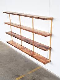 wall mounted shelving unit 4 shelf