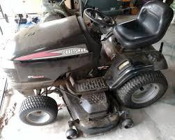 craftsman gt5000 garden tractor 25hp