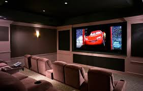 home theater ceiling lighting. awesome home theater ideas designed in modern nuance illuminated by wall lamp and ceiling lights lighting