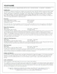 Resume Templates Live Career Delectable Live Career Resume Builder Free Professional Resume Templates A 44