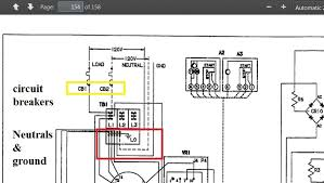 rv net open roads forum tech issues onan 5000 emerald plus see the diagram on page 154 of the service manual