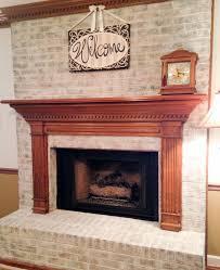 brick fireplace mantels. There Brick Fireplace Mantels