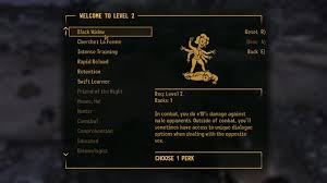 Fallout 4 Skills Chart How To Do A Fallout New Vegas Speed Run And Still Enjoy The