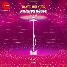 Lucasa Việt Nam - Bàn Ủi Hơi Nước Philips GC514 - 1600w 1600ml 3 tốc độ