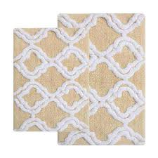 double quatrefoil straw 2 ft x 3 ft 4 in 2 piece