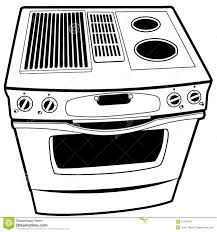 gas stove clipart black and white. royalty-free stock photo gas stove clipart black and white u