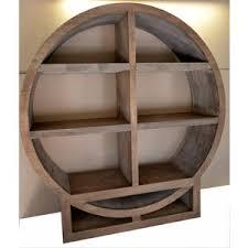 Bookcase Circular 3 shelf Wood Custom - The Zen - a MapleBear design