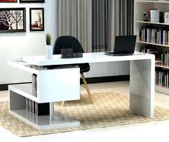 contemporary desks for home office. Modern White Home Office Desk Contemporary Furniture Desks For E