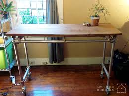 rolling standing desk