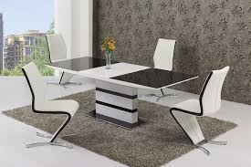 Expandable Glass Dining Room Tables Interior Cool Ideas
