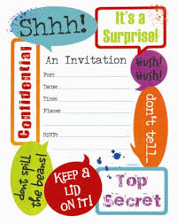 Party Invites Templates Free Surprise Party Invite Template Surprise Birthday Invitation