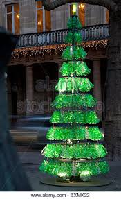 Christmas Decorations Made Out Of Plastic Bottles Recycled Christmas Tree Stock Photos Recycled Christmas Tree 93