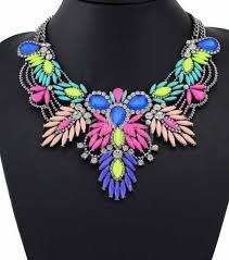 Eluceo <b>Fashion New</b> Colorful Maxi Vintage Women <b>Choker</b> ...
