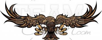 hawk wing clipart. Plain Clipart Hawk Clipart U2013 Raptor With Spread Wings Vector Image Intended Wing U