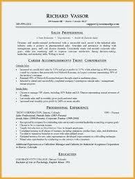 Sample Outside Sales Resume Resume Medical Representative Emelcotest Com