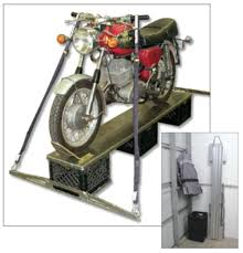 Motorcycle Coat Rack Aerostich Aluminum Wheel Crate WorkstandThreeCrate Aerostich 36