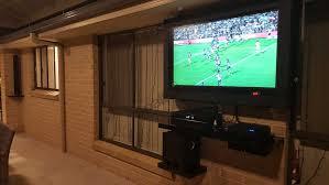 mounting a tv outdoors astonishing alfresco series sealtv home ideas 46