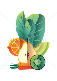 Design A Poster On The Topic Of Healthy Food Healthy Food Poster Design Vector Image 1960023