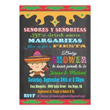 chalkboard mexican fiesta baby shower invitations zazzle co uk in themed idea 6