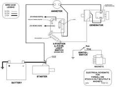 ammeter not showing charge on 6 volt system farmall cub farmall c wiring diagram cut out charging jpg