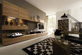 brown and white rug. Handsome Wooden Cabinet Ideas At Stunning Brown Wall Decor And Fascinating Black White Rug Idea Under