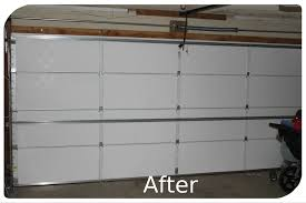 insulate garage door diy reflective insulation or foam boards