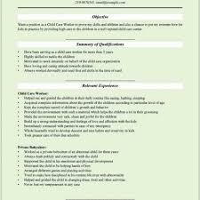 Child Care Resume Skills Elegant 31 Favorite Child Care Worker