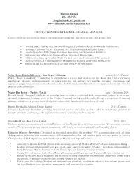 Sample General Manager Resume Revenue Manager Resume General Manager Resume Samples Sample