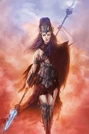 Freya Con Alas De Alcon 24 Cool Illustrations Of AthenaThe Goddess Of Wisdom Mythology 18