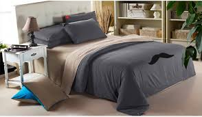 Marvelous Classic Casual Bedroom With Mens Bedding Sets, Mustache Bed Sheets, Mustache  Bed Sheets,