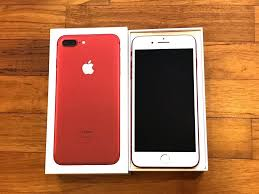 iphone 7 plus limited edition red