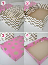 Decorating Shoe Boxes For Storage pretty boxes made from shoe boxes and wrapping paper Dorm 2