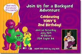 barney party invitation template barney birthday invitations candy wrappers thank you cards