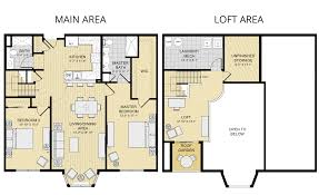 Bedroom Floor Plans With Loft  Home Ideas Decor - Loft apartment floor plans
