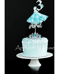 Hot Sale Elsa Cake Topper Elsa Birthday Cake Topper Disney