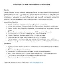 dallas if anyone is currently looking or knows someone real estate property manager job description