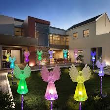 artificial angel solar garden