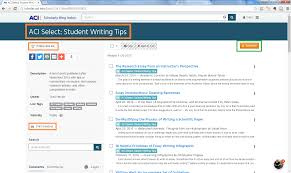 scholarly blog research in aci a term paper workflow for students  writing tips microct