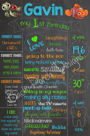 best finding nemo toys ideas finding nemo cake first birthday chalkboard sign finding nemo check out my fb page bach porch designs