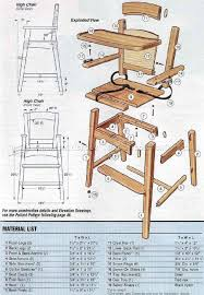 woodworking design wooden furniture plans high chair woodarchivist wood dollhouse free garden