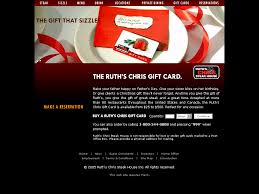 ruth s chris steak house restaurant gift certificates and gift cards ruth s chris steak house is the perfect gift for every occasion