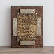 Just Think  Metal Framed Plaque | Dayspring Regarding Christian Framed  Wall Art (Image 7