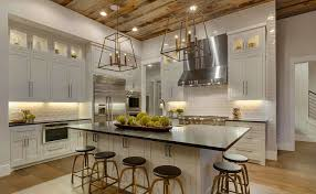 Modern farmhouse kitchen design Gray House Of Hargrove Modern Farmhouse Kitchens House Of Hargrove