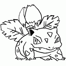 Small Picture Pokemon coloring pokemon picture Bulbasaur seed grass free