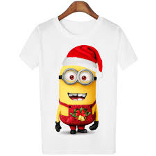 Popular Minions Christmas Shirt-Buy Cheap Minions Christmas Shirt ...