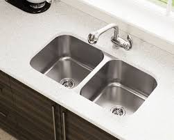 Types Of Kitchen Sinks U2022 Read This Before You BuyDouble Basin Stainless Steel Kitchen Sink