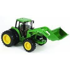 42425 brins big farm john deere 6830s with front loader dual wheels the farm toy